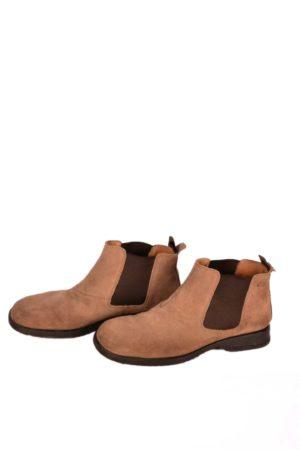 Heren schoenen bruin suede