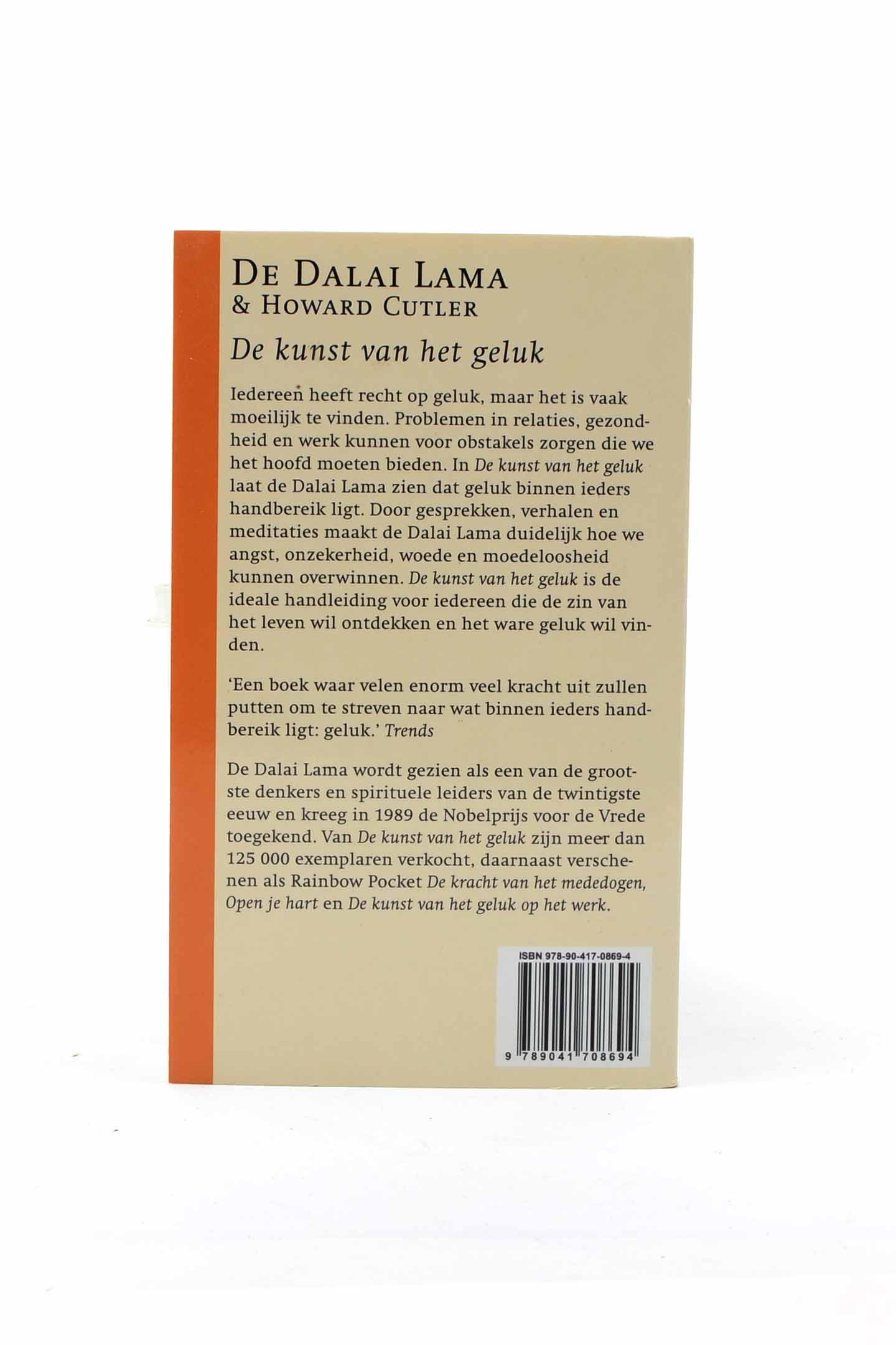 De Kunst Van Het Geluk De Dalai Lama Religie Spiritualiteit Filosofie